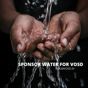 WATER FOR VOSD SANCTUARY
