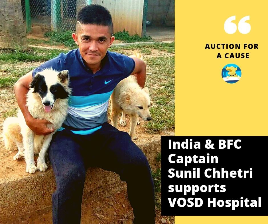 Sunil Chhetri for VOSD Sanctuary